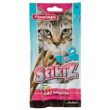 Flamingo Stikiz Fish ФЛАМИНГО СТИКИЗ лакомство для кошек и котят со вкусом рыбы