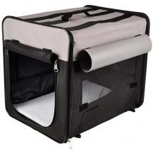 Karlie-Flamingo Smart Top Plus КАРЛИ-ФЛАМИНГО СМАРТ ТОП ПЛЮС сумка переноска палатка для собак, складная, ткань, черно-серый