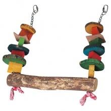 Flamingo Parrot Toy Swing ФЛАМИНГО КАЧЕЛИ игрушка для крупных попугаев