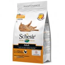 Schesir Cat Adult Chicken ШЕЗИР ВЗРОСЛЫЙ КУРИЦА сухой монопротеиновый корм для котов