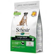 Schesir Dog Large Adult Lamb ШЕЗИР ВЗРОСЛЫЙ КРУПНЫХ ЯГНЕНОК сухой монопротеиновый корм для взрослых собак крупных пород