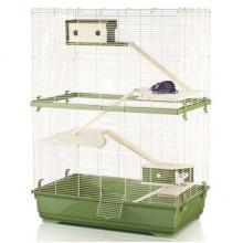 Imac Rat 80 Double Wood АЙМАК РЭТ 80 ДАБЛ ВУД клетка для крыс, 4-х ярусная, пластик