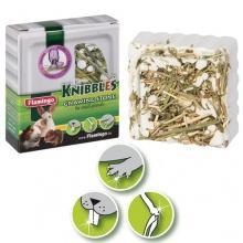 Karlie-Flamingo (Карли-Фламинго) KNIBBLES ALFALFA минеральный камень для грызунов с люцерной, для гигиены зубов, 70г