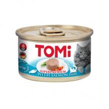 TOMi Salmon ТОМИ ЛОСОСЬ, консервы для котов, мусс