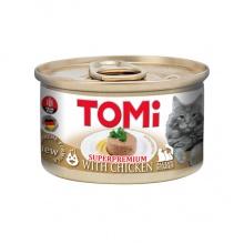 TOMi Chicken ТОМИ КУРИЦА, консервы для котов, мусс