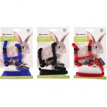 Flamingo Rabbit Harness+Lead ФЛАМИНГО шлея и поводок для кролика