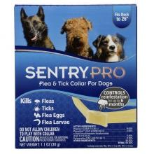 SENTRY СЕНТРИ ПРО (SentryPro) ошейник для собак от блох, клещей, яиц и личинок блох 56см
