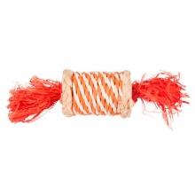 Flamingo Role N Rustle ФЛАМИНГО РОУЛ РАСТЛ конфета из соломы игрушка для грызунов, 17 см