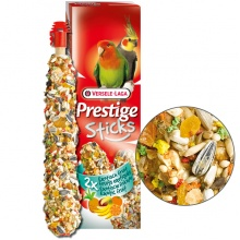Versele-Laga Prestige Sticks Big Parakeets Exotic Fruit ВЕРСЕЛЕ-ЛАГА ЭКЗОТИЧЕСКИЕ ФРУКТЫ лакомство для средних попугаев