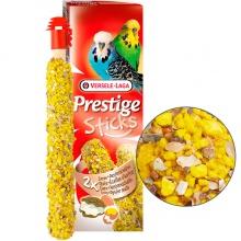 Versele-Laga Prestige Sticks Budgies Eggs&Oyster Shells ВЕРСЕЛЕ-ЛАГА ЯЙЦА И РАКОВИНЫ УСТРИЦ лакомство для волнистых попугаев