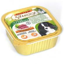 MISTER STUZZY Dog Veal Carrot МИСТЕР ШТУЗИ ТЕЛЯТИНА МОРКОВЬ корм для собак, паштет, 150г