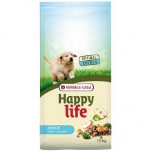Happy Life Junior Chicken сухой корм с курицей для щенков всех пород