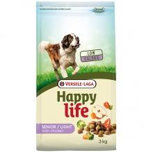 Happy Life Senior Light сухой корм для пожилых и толстых собак