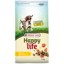 Happy Life Adult Chicken сухой корм с курицей для взрослых собак всех пород