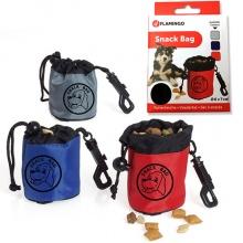 Flamingo SNACK BAG мешочек для лакомств для дрессировки собак, нейлон