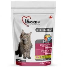 1st Choice Sterilized сухой суперпремиум корм для стерилизованных кошек