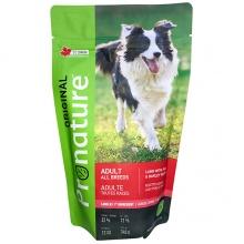 Pronature Original Dog Lamb Peas&Barley ПРОНАТЮР ОРИДЖИНАЛ ЯГНЕНОК ГОРОХ C ЯЧМЕНЕМ корм для собак