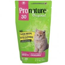 Pronature Original Kitten Classic Recipe ПРОНАТЮР ОРИДЖИНАЛ КОТЕНОК корм для котят без пшеницы, кукурузы, сои