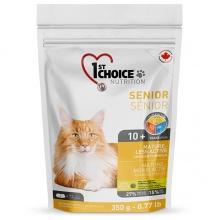 1st Choice Senior Mature Less Aktive сухой суперпремиум корм для пожилых или малоактивных котов