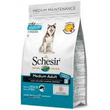 Schesir Dog Medium Adult Fish ШЕЗИР ВЗРОСЛЫЙ СРЕДНИХ РЫБА сухой монопротеиновый корм для собак средних пород