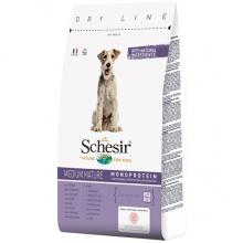 Schesir Dog Medium Mature ШЕЗИР ПОЖИЛЫХ СРЕДНИХ КУРИЦА сухой монопротеиновый корм для пожилых или малоактивных собак средних пород