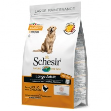 Schesir Dog Large Adult Chicken ШЕЗИР ВЗРОСЛЫЙ КРУПНЫХ КУРИЦА сухой монопротеиновый корм для собак крупных пород