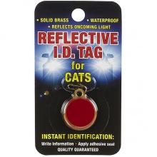 Coastal ID Tag медальон для адреса на ошейник светоотражающий, для котов