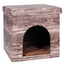 Flamingo CHALET HOUSE ФЛАМИНГО ШАЛЕ ХАУЗ домик для котов и собак, ткань