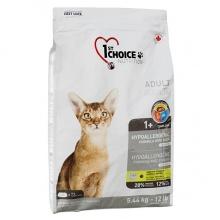1st Choice Hypoallergenic Adult с уткой и картошкой гипоаллергенный корм для котов