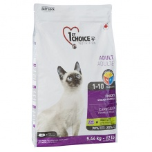 1st Choice Finicky Adult Chicken сухой корм для привередливых и активных котов