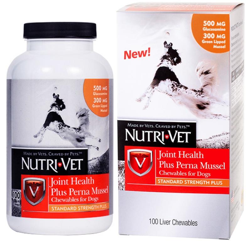 Nutri-Vet СВЯЗКИ И СУСТАВЫ ПЛЮС (Plus) глюкозамин хондроитин МСМ для собак