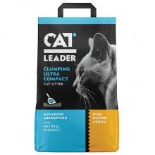 CAT LEADER WILD NATURE ультра-комкующийся наполнитель в кошачий туалет