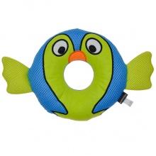 Coastal Rascals Rugged Ringer Mesh Toy Barney Blowfish КОСТАЛ БАРНИ РЫБА ФУГУ игрушка для собак