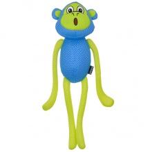 Coastal Rascals Feisty Flappers Mesh Toy Mazie Monkey КОСТАЛ ОБЕЗЬЯНА МАЗИ игрушка для собак
