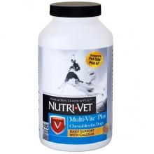 Nutri-Vet Multi-Vite Plus НУТРИ-ВЕТ МУЛЬТИ-ВИТ ПЛЮС мультивитамины для собак, жевательные таблетки