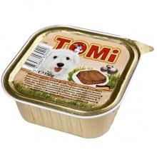 TOMi ИНДЕЙКА ПАСТА МОРКОВЬ (turkey, pasta, carrots) консервы корм для собак, паштет