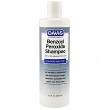 Davis Benzoyl Peroxide Shampoo ДЭВИС 2,5% БЕНЗОИЛ ПЕРОКСИД шампунь для собак и котов с демодекозом и дерматитами