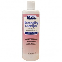 Davis Detangling Shampoo ДЭВИС ЛЕГКОЕ РАСЧЕСЫВАНИЕ шампунь-кондиционер от колтунов для собак, котов, концентрат