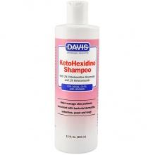 Davis KetoHexidine Shampoo ДЭВИС КЕТОГЕКСИДИН шампунь с 2% хлоргексидином и 1% кетоконазолом для собак и котов с заболеваниями кожи