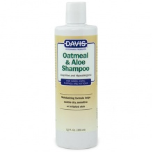 Davis Oatmeal & Aloe Shampoo ДЭВИС ОВСЯНАЯ МУКА С АЛОЭ гипоаллергенный шампунь для собак и котов, концентрат