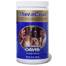 Davis TheraCoat ДЭВИС ТЕРАКОУТ диетическая добавка для шерсти собак и котов 454г